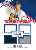 2018 Panini Stars and Stripes Tools of the Trade #23 Tim Cate NM-MT 179/299