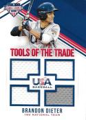 2018 Panini Stars and Stripes Tools of the Trade #29 Brandon Dieter NM-MT 61/299
