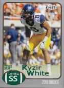 2018 SAGE Hit Premier Draft Silver #35 Kyzir White NM-MT