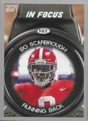 2018 SAGE Hit Premier Draft Silver #46 Bo Scarbrough In Focus NM-MT