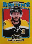 2016-17 O-Pee-Chee Platinum Retro Rainbow Gold #R-8 David Krejci NM-MT 116/149 Bruins