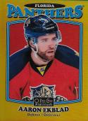 2016-17 O-Pee-Chee Platinum Retro Rainbow Gold #R-21 Aaron Ekblad NM-MT 67/149 Panthers
