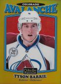 2016-17 O-Pee-Chee Platinum Retro Rainbow Gold #R-56 Tyson Barrie NM-MT 57/149 Avalanche