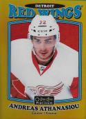2016-17 O-Pee-Chee Platinum Retro Rainbow Gold #R-59 Andreas Athanasiou NM-MT 1/149 Red Wings