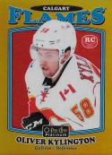 2016-17 O-Pee-Chee Platinum Retro Rainbow Gold #R-75 Oliver Kylington NM-MT 77/149 Flames