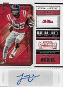 2018 Panini Contenders Draft Picks College Ticket #288 Jordan Wilkins NM-MT