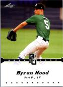 2013 Leaf Perfect Game #52 Byron Hood NM-MT