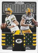 2018 Panini Classics Classic Combos #17 Aaron Rodgers/Jordy Nelson NM-MT