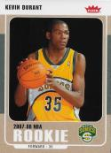 2007-08 Fleer Glossy #212 Kevin Durant NM-MT Supersonics