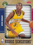 2007-08 Fleer Rookie Sensations Glossy #RS2 Kevin Durant NM-MT Supersonics