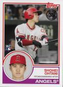 2018 Topps 1983 Topps Rookies #83-1 Shohei Ohtani NM-MT Angels