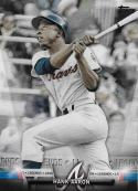 2018 Topps Salute Series 2 #S-85 Hank Aaron NM-MT Braves