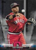 2018 Topps Salute Series 2 Black #S-23 Jose Ramirez NM-MT 258/299 Indians