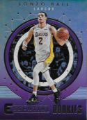 2017-18 Panini Essentials Essential Rookies #19 Lonzo Ball NM-MT Lakers