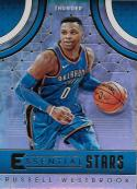 2017-18 Panini Essentials Essential Stars #12 Russell Westbrook NM-MT Thunder
