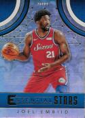 2017-18 Panini Essentials Essential Stars #24 Joel Embiid NM-MT 76ers