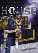 2018 Panini Prestige Power House Jerseys #PH-JG Jared Goff NM-MT Cal Golden Bears