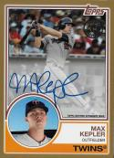 2018 Topps 1983 Topps Autographs Gold #83A-MK Max Kepler NM-MT Auto 24/50