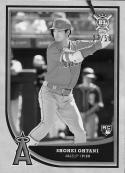 2018 Topps Big League Black and White #141 Shohei Ohtani NM-MT 27/50 Angels