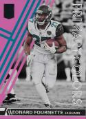 2018 Donruss Elite Primary Colors Pink #PC11 Leonard Fournette NM-MT Jaguars