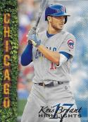 2018 Topps Kris Bryant Highlights Blue #KB-9 Kris Bryant NM-MT Cubs