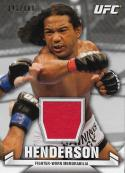 2013 Topps Knockout Fighter Relics #KR-BH Benson Henderson NM-MT MEM 141/188