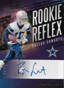 2017 Panini Absolute Rookie Reflex Signatures Gold #RR-RS Ryan Switzer NM-MT 8/25 Dallas Cowboys