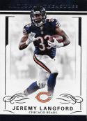 2016 Panini National Treasures #17 Jeremy Langford NM-MT 39/99 Bears
