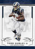 2016 Panini National Treasures #53 Todd Gurley II NM-MT 84/99 LA Rams