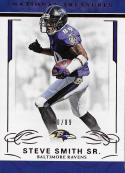 2016 Panini National Treasures Jersey Number Red #9 Steve Smith Sr. NM-MT 60/89 Ravens