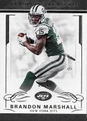 2016 Panini National Treasures Gold #73 Brandon Marshall NM-MT 08/49 NY Jets
