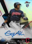 2018 Finest Autographs #FA-GA Greg Allen NM-MT Auto Indians