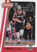2017-18 Panini Threads #1 Damian Lillard NM-MT Blazers