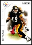 2011 Panini Rookies and Stars #119 Troy Polamalu NM-MT Pittsburgh Steelers Official NFL Trading Card