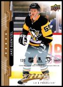 2018-19 Upper Deck MVP Puzzle Back #135 Jake Guentzel NM-MT Pittsburgh Penguins Official NHL Hockey Trading Card