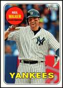 2018 Topps Heritage High Number Baseball #708 Neil Walker SP New York Yankees  Official MLB Trading Card