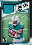 2018 Donruss Rookie Threads Green #30 Kalen Ballage NM-MT MEM Miami Dolphins Official NFL Football TRading Card