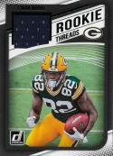 2018 Donruss Rookie Threads Green #32 J'Mon Moore NM-MT MEM Green Bay Packers Official NFL Football Trading Card