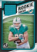 2018 Donruss Rookie Threads Green #37 Mike Gesicki NM-MT MEM Miami Dolphins Official NFL Football Trading Card