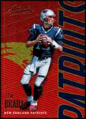 2018 Panini Absolute Spectrum Gold #64 Tom Brady NM-MT New England Patriots Official NFL Football Trading Card