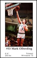 1979-80 Handy Dan San Antonio Spurs #NNO Mark Olberding NM-MT