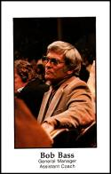 1979-80 Handy Dan San Antonio Spurs #NNO Bob Bass NM-MT San Antonio Spurs