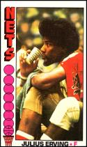 1976-77 Topps #1 Julius Erving EX/NM New York Nets Official NBA Basketball Card