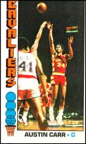 1976-77 Topps #53 Austin Carr EX/NM Cleveland Cavaliers Official NBA Basketball Card