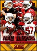 2015 Panini Score Team Leaders Gold #30 Alex Okafor/Drew Stanton/Andre Ellington/Michael Floyd NM-MT Arizona Cardinals