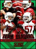 2015 Panini Score Team Leaders Green #30 Andre Ellington/Drew Stanton/Alex Okafor/Michael Floyd NM-MT Arizona Cardinals