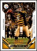 2015 Panini Score SP Photo Variations #12 Ben Roethlisberger NM-MT Pittsburgh Steelers