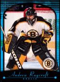 2000-01 Topps Premier Plus #115 Andrew Raycroft NM-MT RC Boston Bruins Official NHL Hockey Card