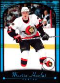 2000-01 Topps Premier Plus #120 Martin Havlat NM-MT RC Ottawa Senators Official NHL Hockey Card
