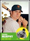 2012 Topps Heritage #78 Daniel Murphy NM-MT New York Mets Official MLB Baseball Card